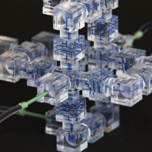 Microfluidics Assembled in a Snap