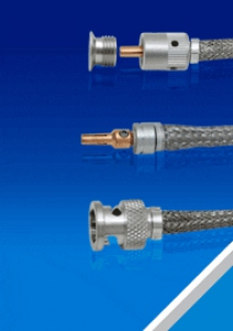 "In-Vacuum Coaxial Cables 1/8"" Diameter"