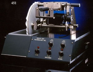 MODEL 451 Electrolytic Crystal Polishers