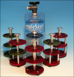 MODEL SS100 - SampleSaver™ Storage Container
