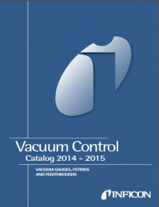 Catalog and brochures for Vacuum gauges and components