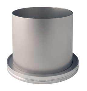 Flange with Tube - Stainless Steel